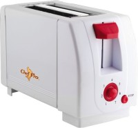 ChefPro Compact Design With 7 Browning Settings 750 W Pop Up Toaster