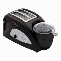 Tefal TEF-TT550015 1200 W Pop Up Toaster Black