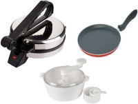 Black cat Bc55 Dough Maker with Tawa with Roti and Khakra Maker