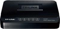 TP-LINK TD-8817 ADSL2 Ethernet/USB Wired with Modem Router Black