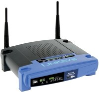Cisco Linksys WRT54GL Wireless-G Broadband Linux Router Black & Blue