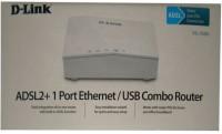 D-Link ADSL2+ 1 Port Ethernet/USB Combo Router