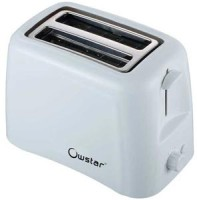 Owstar OWPT - 402 800 W Plastic Pop-Up Toaster White