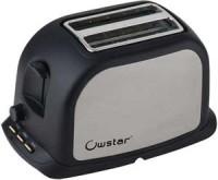 Owstar OWPT - 411 800 W Pop-Up Toaster Black