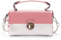 Pazzion Women Pink Genuine Leather Sling Bag