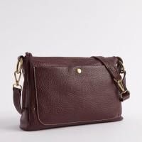 Leahter Women Brown Genuine Leather Shoulder Bag