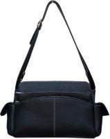 Kudos Girls, Women Black Leatherette Shoulder Bag