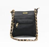Panashe Women Casual Black Genuine Leather Sling Bag