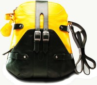 TWACH Bohemian Medium Sling Bag Yellow Green