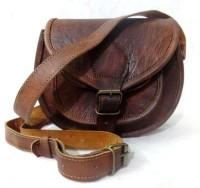 Udaipur Art Gallery Girls, Women Brown Leatherette Sling Bag