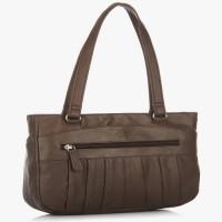 Jag Women, Girls Brown Genuine Leather Hand-held Bag