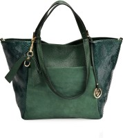 Kazo Women Green PU Shoulder Bag