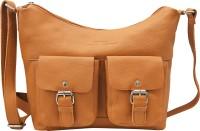 Urban Forest Women Tan Genuine Leather Sling Bag