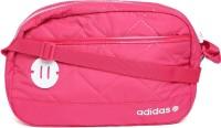 Adidas Neo Women Pink PU Sling Bag