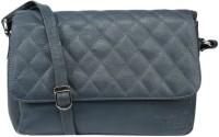 Hidekraft Women, Girls Blue Genuine Leather Sling Bag
