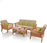 31c622f0c1b Buy Royal Oak Solid Wood 3 + 1 + 1 Sofa Set at best price in India -  TheFurnitureMall