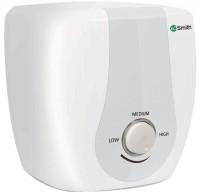 AO Smith Sas 10 L Instant Water Geyser White, Silver