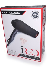 Corioliss Infrared Ionic Powerful AC Motor Professional IRed Hair Dryer Black