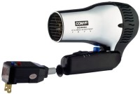 Conair Ionic Cord Keeper 1875 W Chrome 169CHIW Hair Dryer