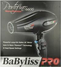 Babyliss Pro Titanium Ionic BABNT6610 Hair Dryer Black