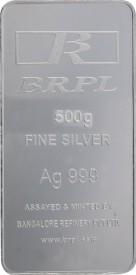 Brpl 500 Gram Silver Bar S 999 500 g Silver Bar