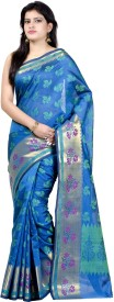 Chandrakala Woven Banarasi Handloom Silk Cotton Blend Saree