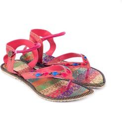Women Pink Flats