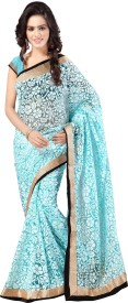 Anju Sarees Self Design Fashion Handloom Brasso Saree