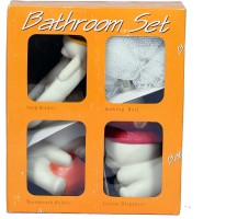 Cleaning Trends Bath Room Set Pack of 4 Pcs