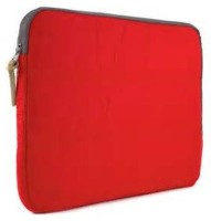 Techbyte Laptop Red Zip Sleeve Laptop Bag