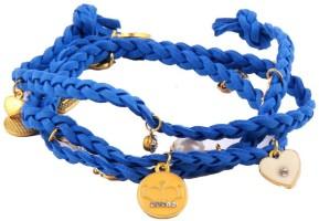 Nirosha Fashion Rope Charm Alloy Bracelet