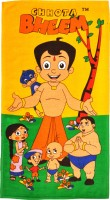 Chhota Bheem Cartoon Cotton Bath Towel Bath Towel, Multicolor