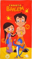 Chhota Bheem Cartoon Cotton Bath Towel 1 Bath Towel, Multicolor