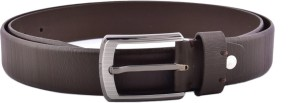 Buckleup Men Formal Black Genuine Leather Belt Black
