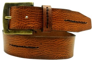LaPalma Boys, Girls Casual Tan Genuine Leather Belt Tan