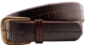 LaPalma Boys, Girls Casual Brown Genuine Leather Belt Brown