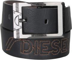 Blute Men Casual Black Artificial Leather Belt Black