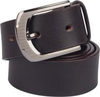 Grasshooper Men Casual Brown Genuine Leather Belt Brown