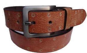 Ex Corio Men Casual Brown Genuine Leather Belt Brown