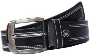 Winsome Deal Men Formal, Casual Black Artificial Leather Belt Black