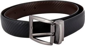 df525856055 Rs 399. ADS Men Formal Black Genuine Leather Belt Black