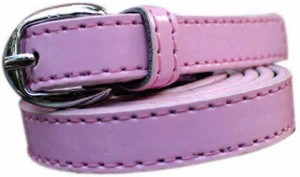 Winsome Deal Men Formal, Casual Pink Artificial Leather Belt Pink