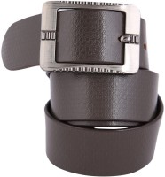 Dharavi Market Men, Boys Casual Brown Genuine Leather Belt Brown-01