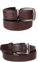 Lenin Men Casual Brown Genuine Leather Belt