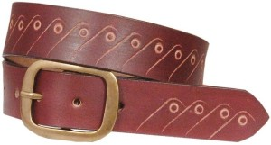 Swastika Men Casual Multicolor Genuine Leather Belt Multicolor-011