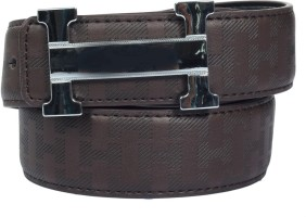 Blute Men Casual, Evening, Party Brown Artificial Leather Belt Brown