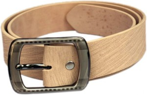 Winsome Deal Men Formal, Casual Beige Artificial Leather Belt Camel
