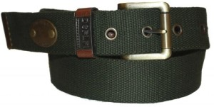 Authority Men Casual Green Fabric Belt
