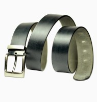 99cells Men, Women Casual Black Genuine Leather Belt black