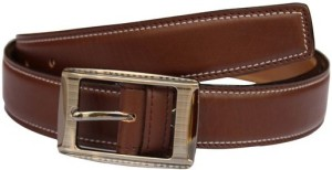 Winsome Deal Men Formal, Casual Brown Artificial Leather Belt Brown